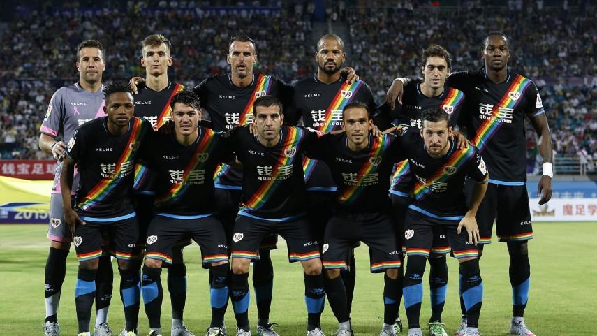 Dorsales oficiales del Rayo Vallecano para la temporada 2015/16