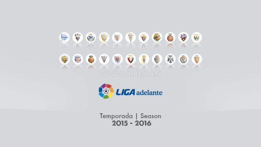 Calendario De Liga Bbva 15 16.Dorsales Oficiales De Todos Los Equipos De La Liga Adelante 2015 16