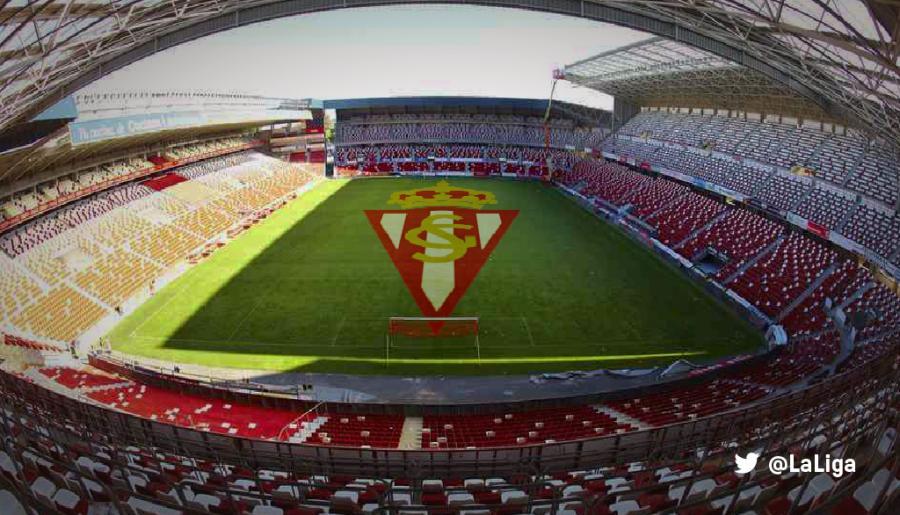 Los datos del sporting de gij n m laga cf - Estadio del sporting de gijon ...
