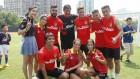 Esfuerzo y sonrisas para el Atlético de Madrid en Shanghai