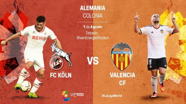 FC Köln vs Valencia CF: En directo