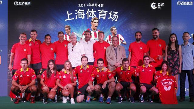 Shanghai se convierte en rojiblanca con la Gira LFP World Challenge