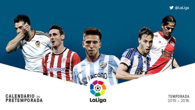 Pretemporada Liga BBVA: Semana del 3 al 9 de agosto