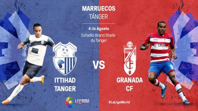 Ittihad Tanger – Granada CF: En Directo
