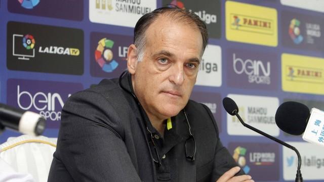 Javier Tebas destaca la importancia de China para el futuro del fútbol español