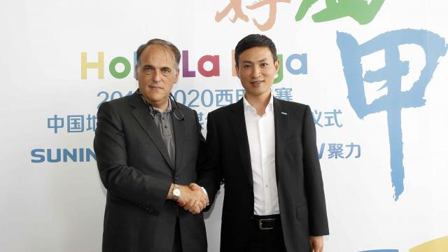 Acuerdo histórico para LaLiga en China