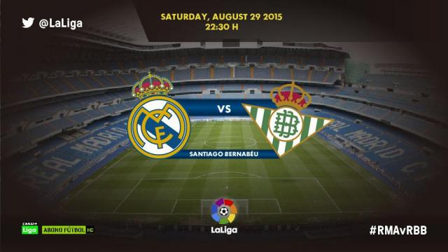 Real Madrid - Real Betis: Play by play