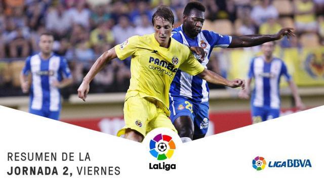 Soldado y Bakambu culminan la remontada del Villarreal ante el Espanyol