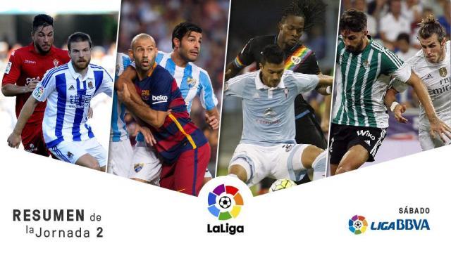 Real Madrid y Celta golean; el Barcelona gana por la mínima