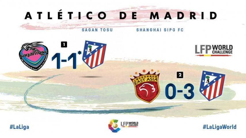 Así fue la Gira LFP World Challenge del Atlético