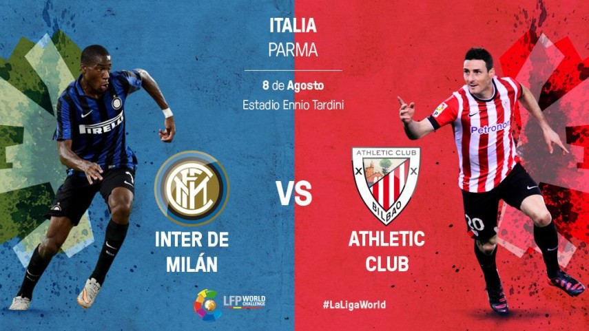 El Athletic Club, preparado para el gran choque ante el Inter de Milán