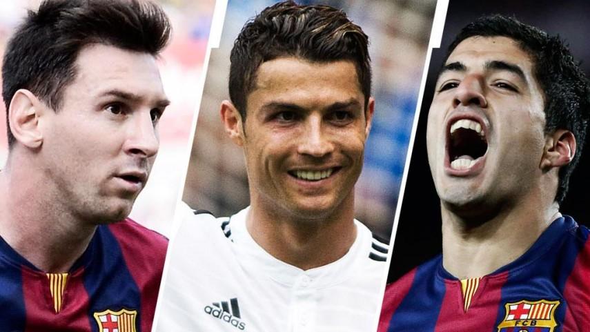 Messi, Cristiano y Luis Suárez, finalistas a Mejor Jugador de la UEFA en Europa