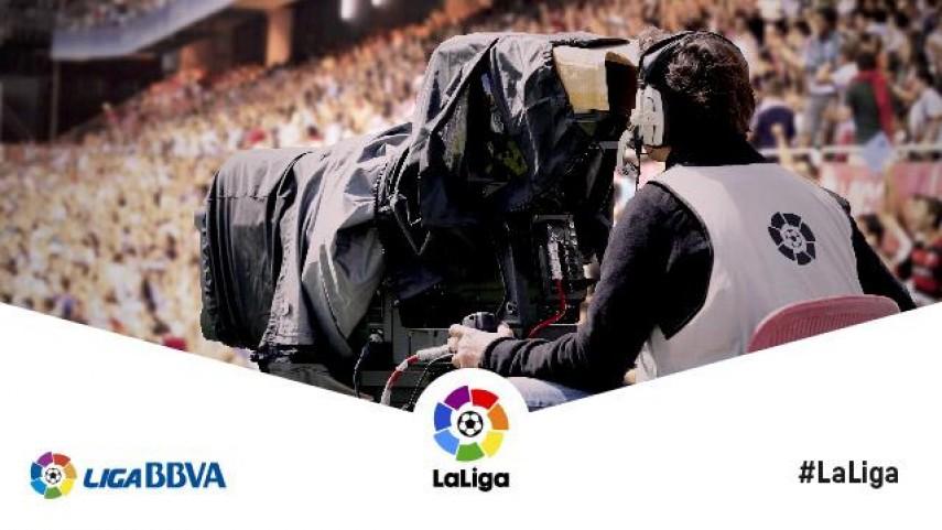 Listado de retransmisiones en España de la jornada 25 de Liga BBVA