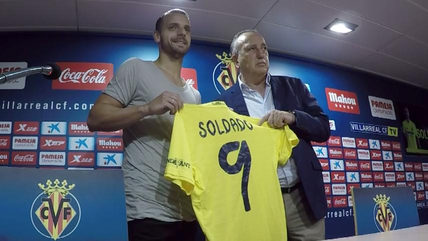 Roberto Soldado vuelve a LaLiga