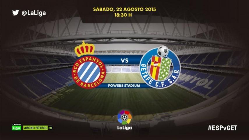 Espanyol y Getafe quieren empezar LaLiga con buen pie