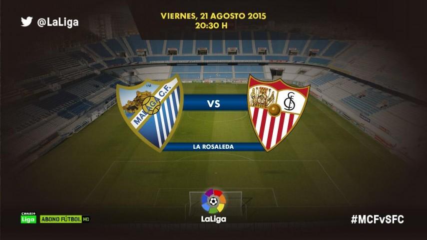 Málaga y Sevilla alzan el telón de LaLiga