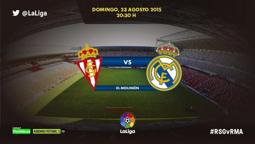 El Real Madrid se estrena en la puesta de largo de El Molinón