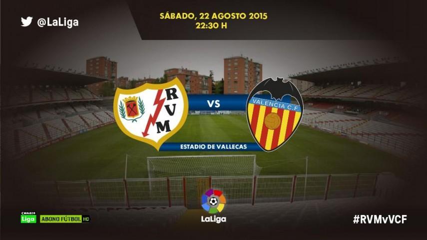 El Rayo Vallecano reta la concentración del Valencia CF