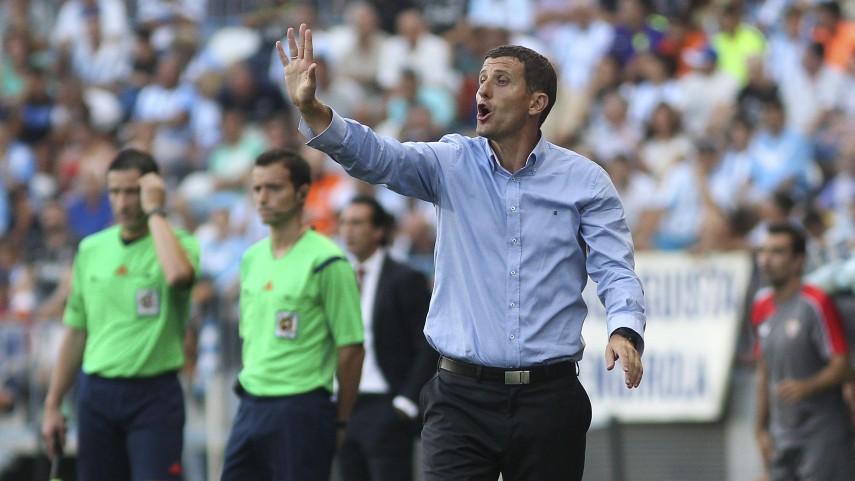 Javi Gracia renueva con el Málaga CF