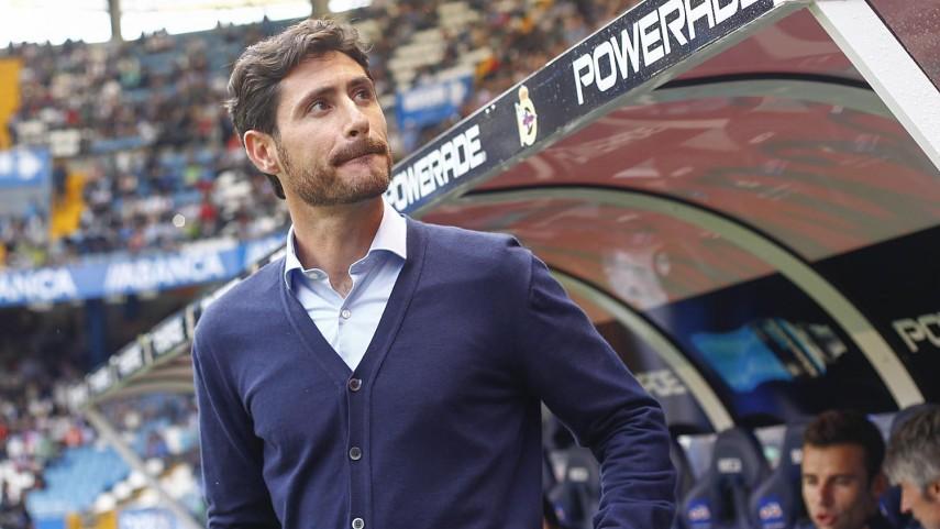 Víctor Sánchez del Amo deja de ser entrenador del RC Deportivo