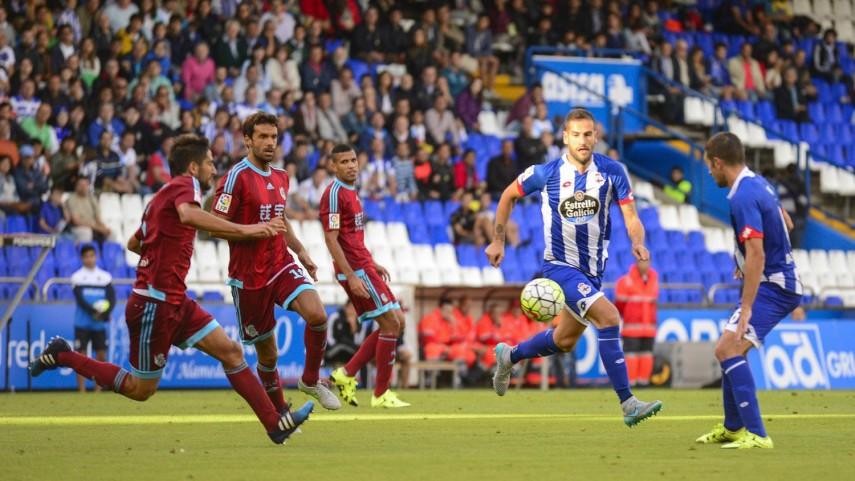 Empate sin goles en el debut de Deportivo y Real Sociedad