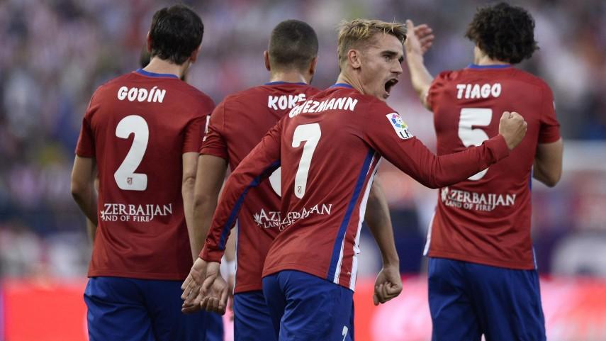 Griezmann decide ante una gran UD Las Palmas