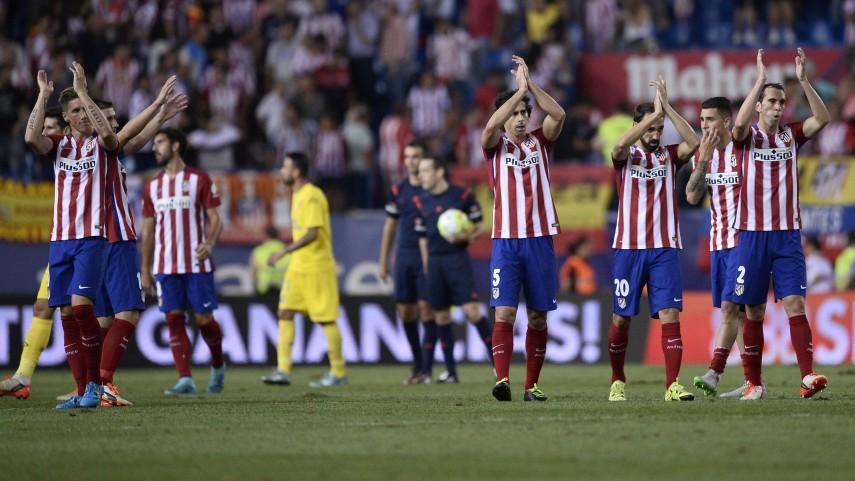 Dorsales oficiales del Atlético de Madrid para la temporada 2015/16