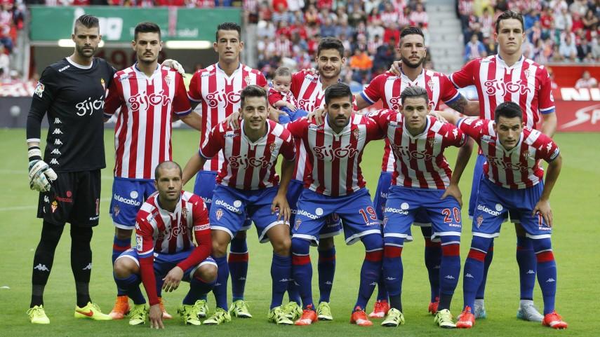 Dorsales oficiales del R. Sporting para la temporada 2015/16