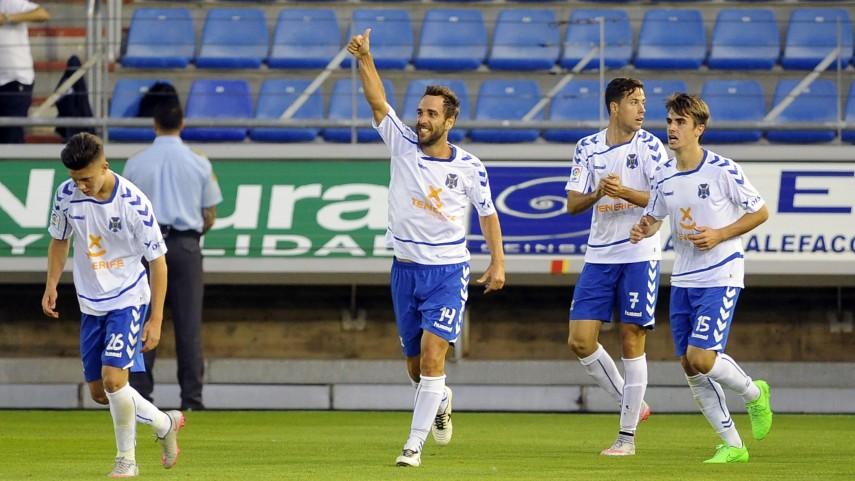 Dorsales oficiales del CD Tenerife para la temporada 2015/16
