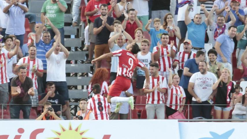 Quique González, el impulso del Almería en la recta final