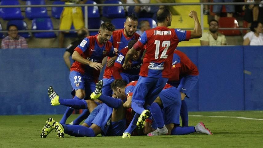 Dorsales oficiales del Levante UD para la temporada 2015/16