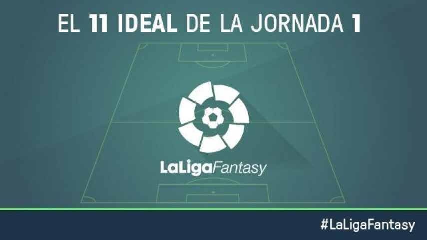 El once ideal de LaLiga Fantasy en la jornada 1