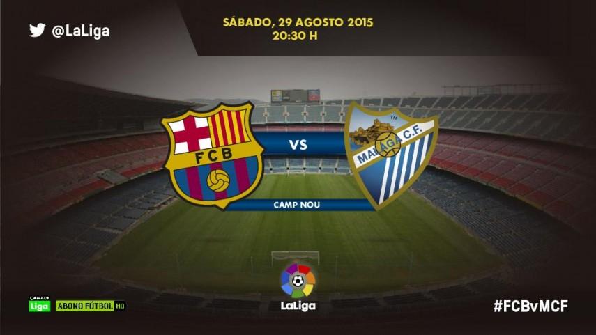 El Málaga quiere volver a sorprender en el Camp Nou
