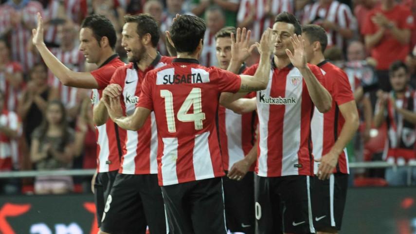 El Athletic completa el pleno de LaLiga en Europa
