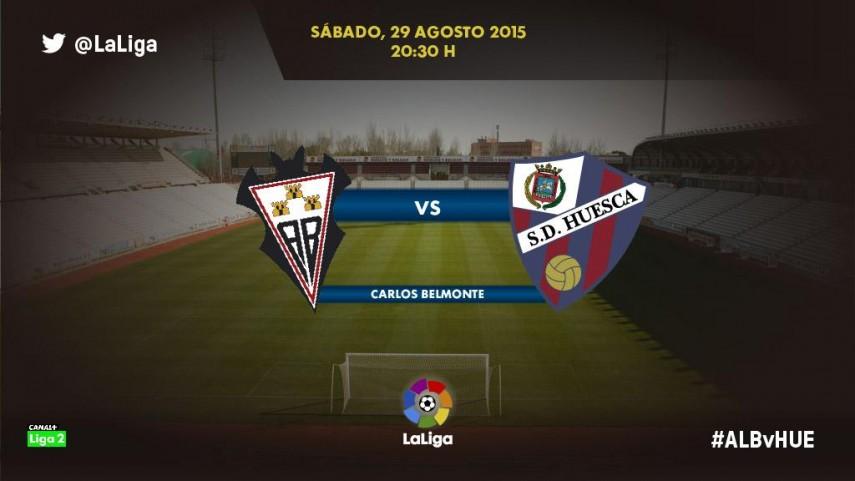 Albacete y Huesca quieren su primera victoria de la temporada