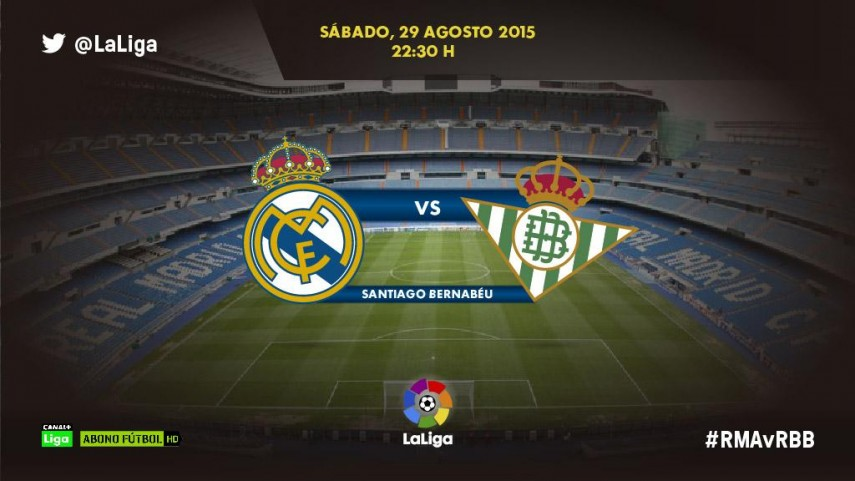 El Real Madrid se estrena en casa frente a un ilusionado Real Betis
