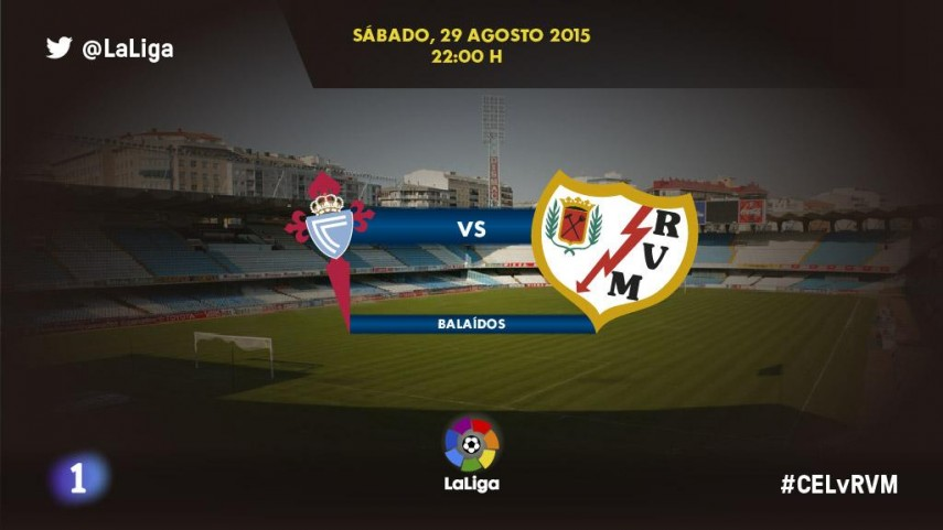 Celta de Vigo y Rayo Vallecano quieren confirmar sensaciones