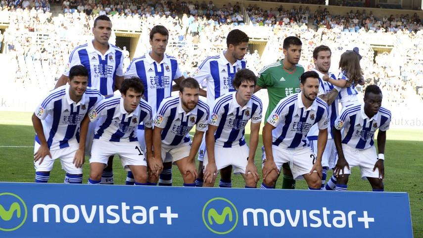 Dorsales oficiales de la R. Sociedad para la temporada 2015/16
