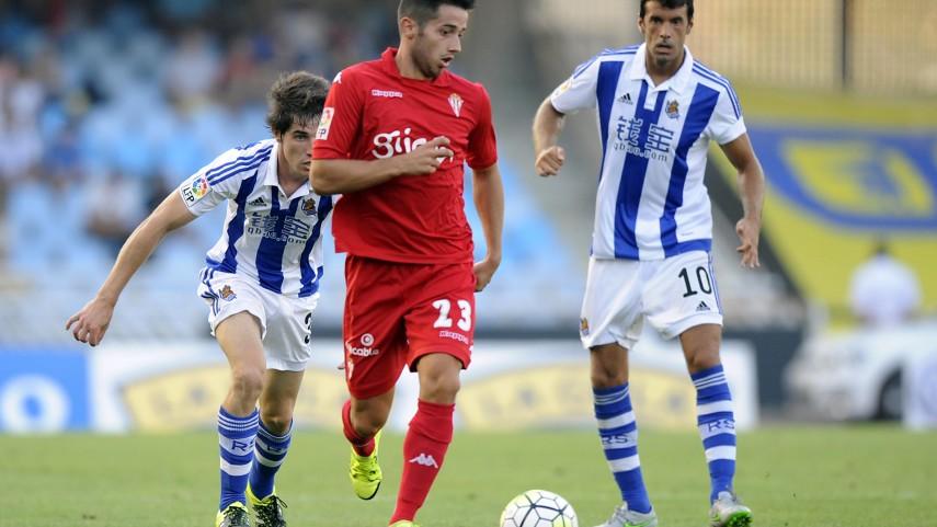 Real Sociedad y Sporting firman el empate en Anoeta