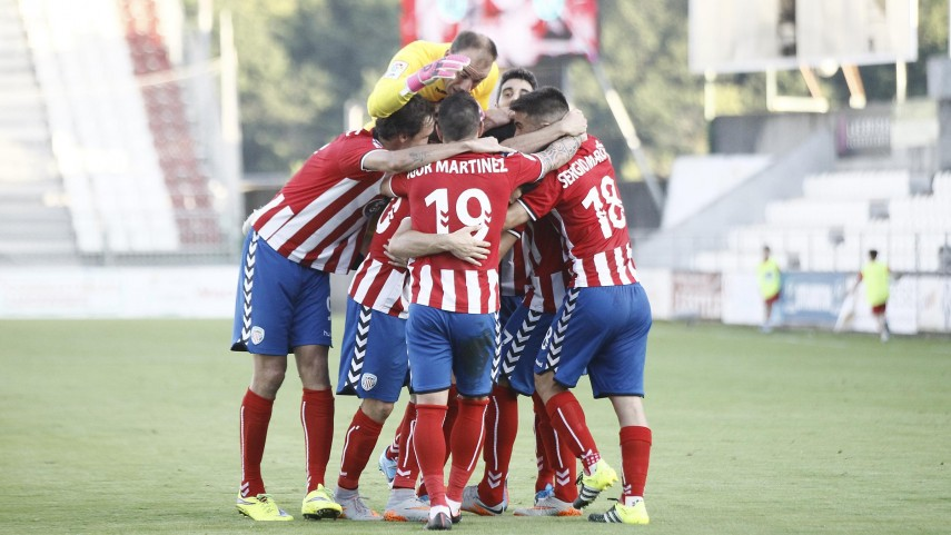 Dorsales oficiales del CD Lugo para la temporada 2015/16