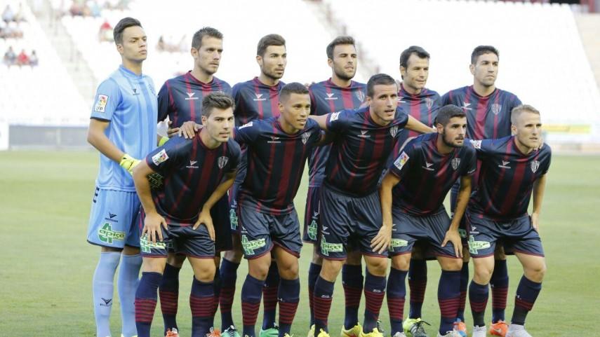 Dorsales oficiales de la SD Huesca para la temporada 2015/16