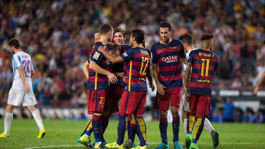 Dorsales oficiales del FC Barcelona para la temporada 2015/16