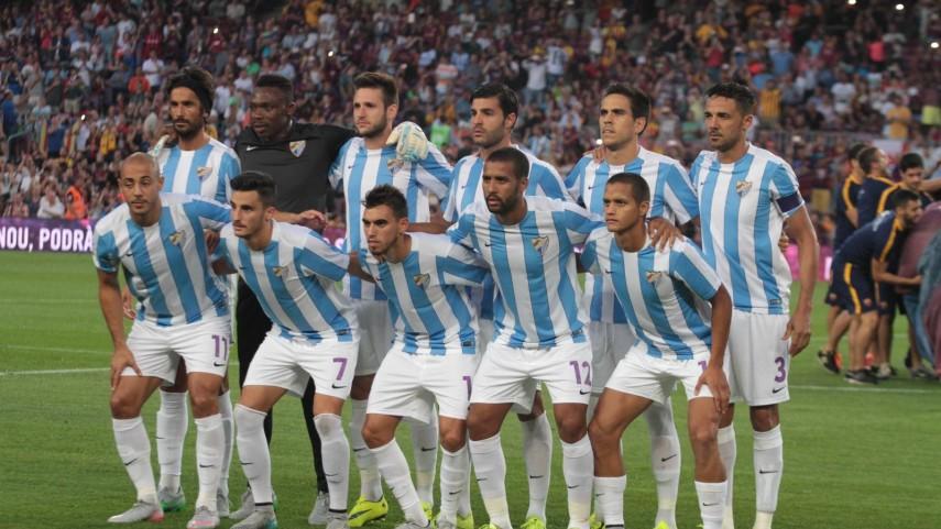 Dorsales oficiales del Málaga CF para la temporada 2015/16