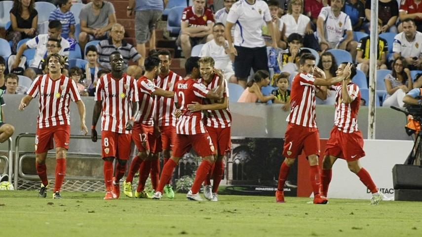 Dorsales oficiales de la UD Almería para la temporada 2015/16