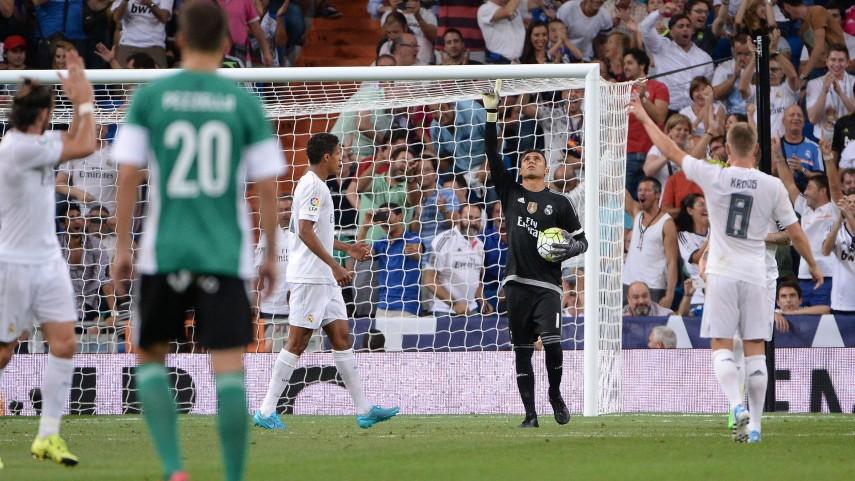 El Real Madrid, único equipo imbatido de las grandes ligas de Europa