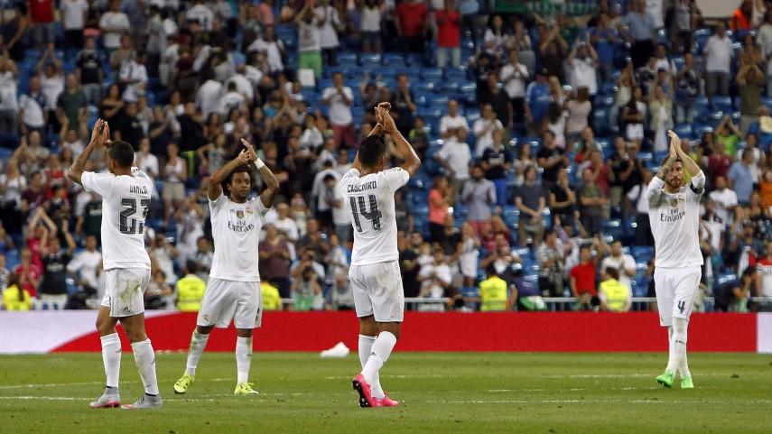 Dorsales oficiales del Real Madrid para la temporada 2015/16