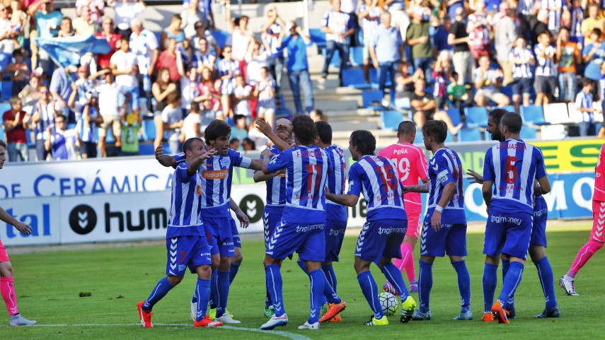Dorsales oficiales del D. Alavés para la temporada 2015/16