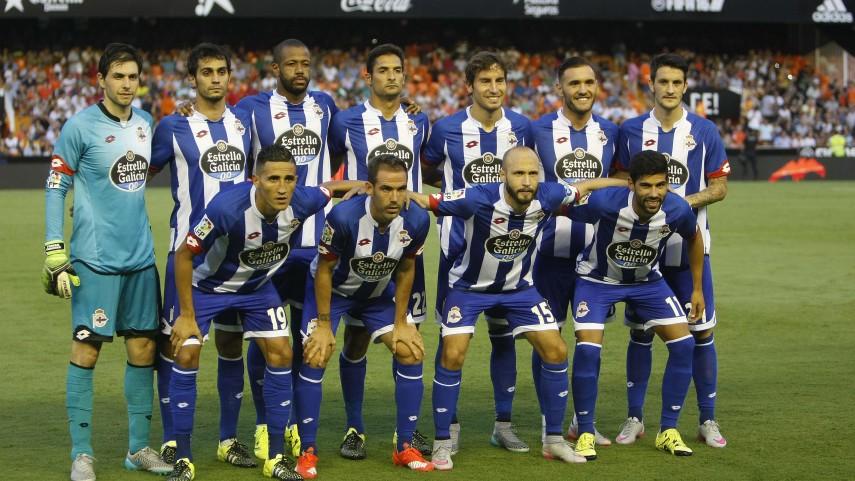 Dorsales oficiales del RC Deportivo para la temporada 2015/16