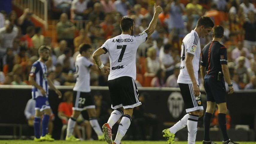 Dorsales oficiales del Valencia CF para la temporada 2015/16