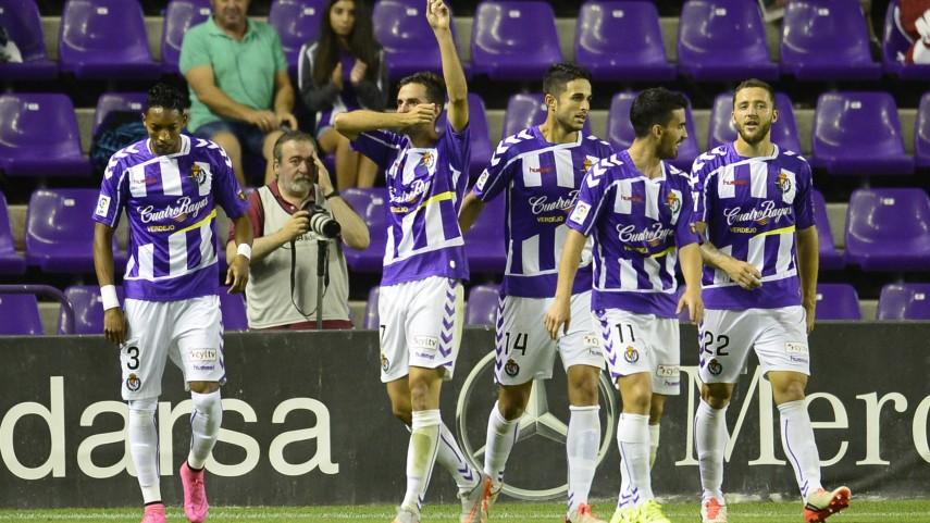 Dorsales oficiales del R. Valladolid para la temporada 2015/16